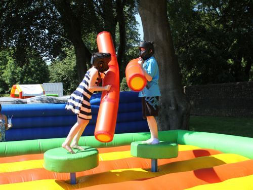 Family Fun Day Inflatable Fighting