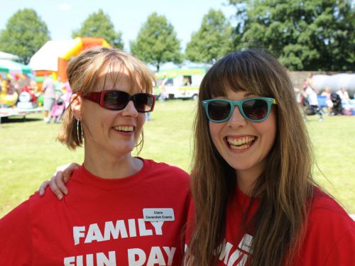 Family Fun Day Workers
